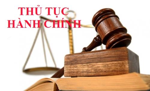Công bố TTHC mới ban hành và TTHC bị bãi bỏ thuộc thẩm quyền giải quyết của NHNN