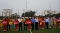 Đoàn Thanh niên NHTW tổ chức Giải bóng đá giao hữu