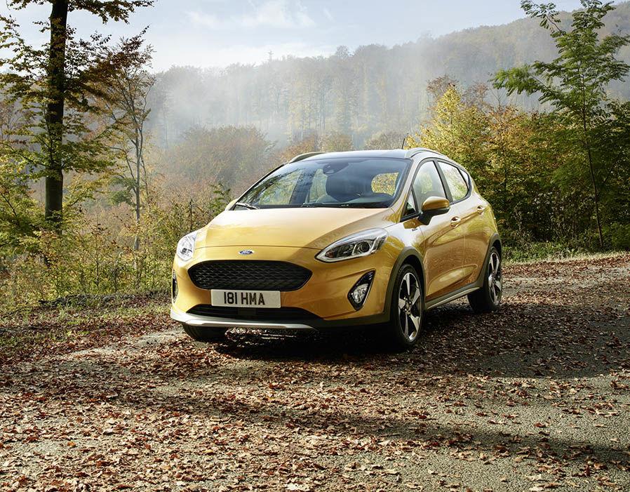 Ford Fiesta Active 2018 có giá từ khoảng 570 triệu đồng