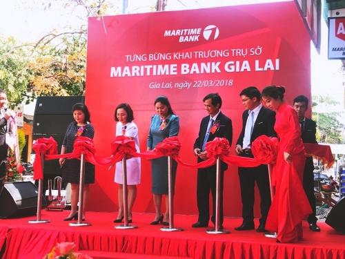 Khai trương Maritime Bank chi nhánh Gia Lai