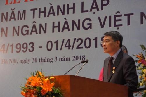 Công đoàn Ngân hàng Việt Nam kỷ niệm 25 năm thành lập