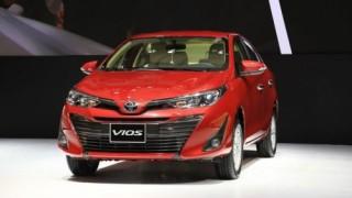 Bảng giá mới của Toyota Vios 2019