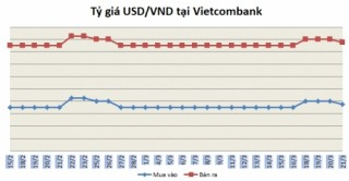 Tỷ giá ngày 21/3: Các ngân hàng điều chỉnh giảm nhẹ