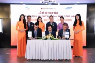 Viettel và Samsung bắt tay hợp tác với website BĐS Cenhomes.vn