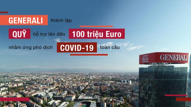 Ứng phó dịch Covid-19, Generali thành lập quỹ hỗ trợ 100 triệu Euro