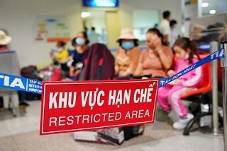 Thành lập ban điều phối để cách ly y tế người nhập cảnh vào sân bay Tân Sơn Nhất