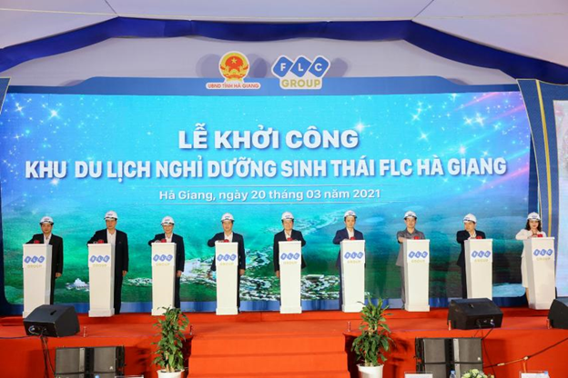 FLC khởi công Khu du lịch nghỉ dưỡng sinh thái cao cấp tại Hà Giang