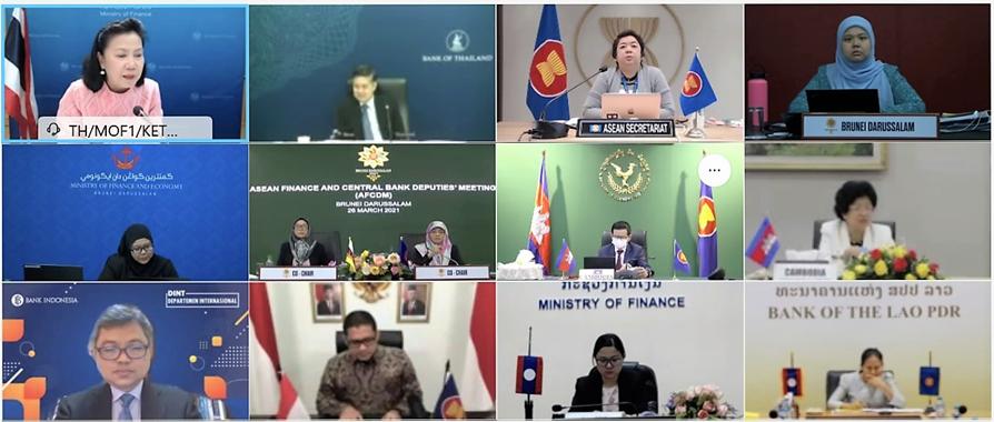 NHNN tham dự cuộc họp trực tuyến giữa Phó Thống đốc NHTW và Thứ trưởng Tài chính ASEAN với Bộ Tài chính Hoa Kỳ
