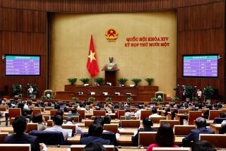 Giới thiệu 3 nhân sự để bầu giữ chức Phó Chủ tịch Quốc hội