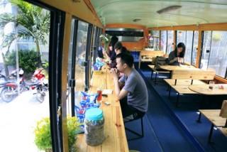 Hay đấy, xe buýt cà phê!