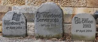 """Sẽ """"khai tử"""" Windows Server 2003 trong vòng 100 ngày tới"""