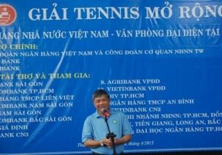 VPĐD NHNN tổ chức giải tennis mở rộng 2015