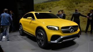 Mercedes-Benz GLC Coupe Concept được ra mắt tại Thượng Hải