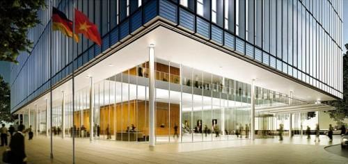 Khu trung tâm TP. HCM hút khách thuê văn phòng