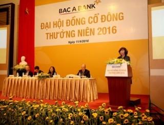 BAC A BANK đặt mục tiêu lợi nhuận sau thuế 400 tỷ đồng trong năm 2016