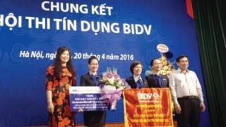 Tưng bừng Hội thi Tín dụng BIDV