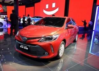 Toyota Vios 2016 với ngoại hình mới có mặt tại Trung Quốc