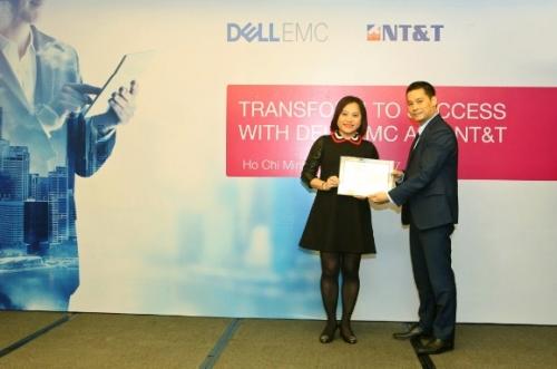 NT&T là nhà phân phối sản phẩm Dell EMC tại Việt Nam