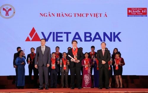 """VietABank lần thứ 11 đoạt giải """"Thương hiệu mạnh Việt Nam 2016"""""""
