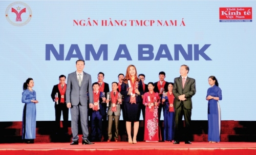 """Nam A Bank: 3 năm liên tiếp đạt """"Thương hiệu mạnh"""""""