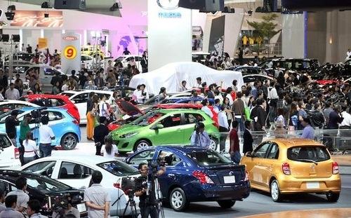Thị trường ô tô trong nước tháng 3/2017
