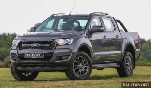 Ford Ranger 2.2L FX4 có giá từ 624 triệu đồng