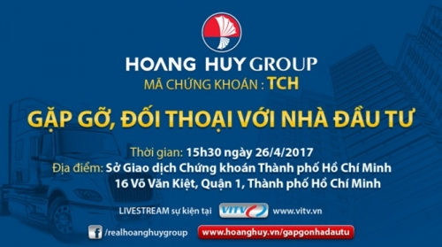 Hoàng Huy Group tiết lộ gì với nhà đầu tư?