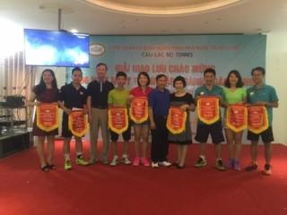 Giải tennis chào mừng kỷ niệm 66 năm ngày thành lập ngành Ngân hàng Việt Nam