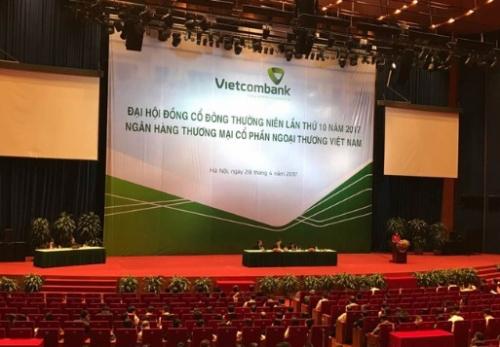 Đại hội đồng cổ đông Vietcombank lần thứ 10: Thông qua nhiều quyết sách mới