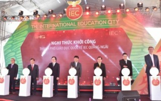 Khởi công thành phố giáo dục quốc tế tại Quảng Ngãi
