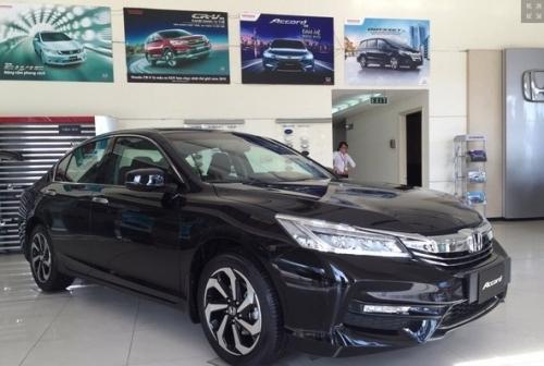 Ô tô Honda nhập khẩu tăng giá thêm 5 triệu đồng