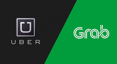 """Thương vụ Grab mua Uber và nguy cơ """"giao dịch bị cấm"""""""