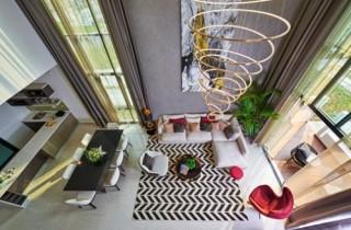 Ra mắt nhà mẫu The Mansions có trang bị thang máy riêng biệt