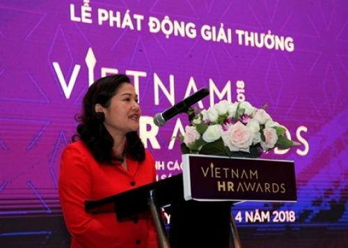 Chính thức khởi động giải thưởng Vietnam HR Awards 2018