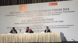 Diễn đàn Doanh nghiệp Việt Nam - Singapore
