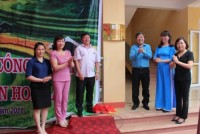 Công đoàn Ngân hàng Việt Nam: Bàn giao Trường Mầm non Hoa Lan