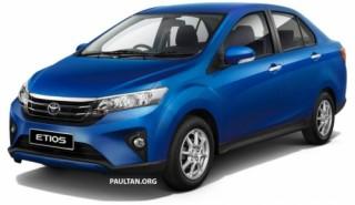 Toyota giới thiệu phiên bản mới của Etios