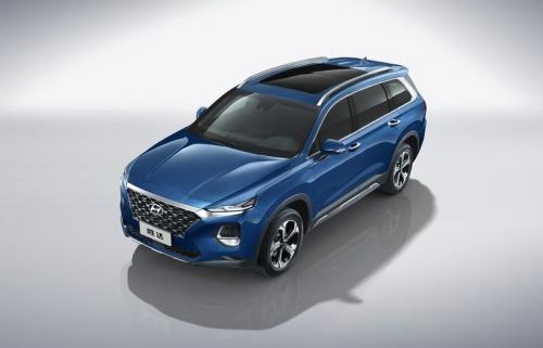 Cận cảnh phiên bản mới của Hyundai Santa Fe 2019
