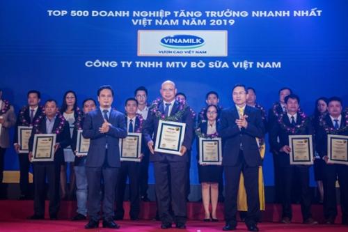 Công ty con của Vinamilk thuộc Top FAST 500