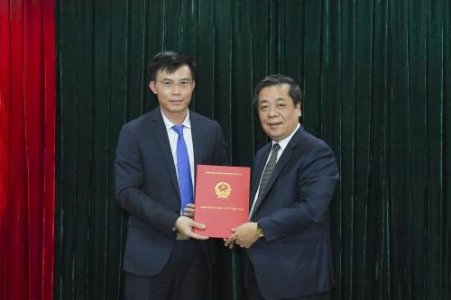 NHNN công bố Quyết định bổ nhiệm Phó Vụ trưởng Vụ Thi đua - Khen thưởng