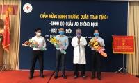 TP.HCM: Thanh tra ngân hàng tặng thiết bị y tế cho Bệnh viện 115