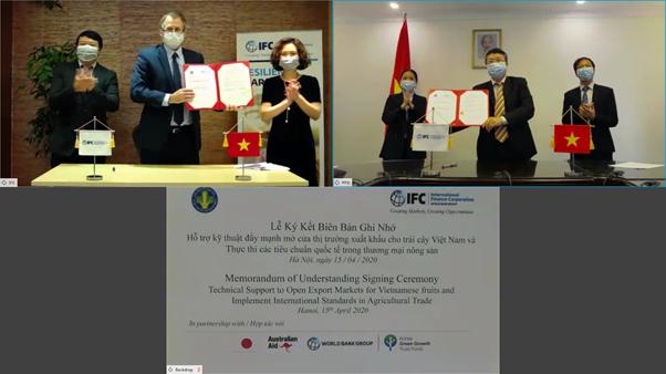 IFC hợp tác với Việt Nam mở rộng thị trường xuất khẩu nông sản