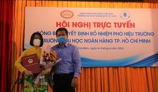 Bổ nhiệm Phó hiệu trưởng Đại học Ngân hàng TP.HCM