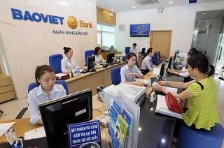 BAOVIET Bank tăng thu lãi từ hoạt động dịch vụ