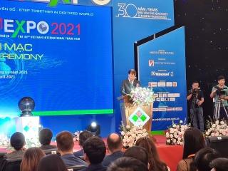 Chính thức khai mạc VIETNAM EXPO 2021