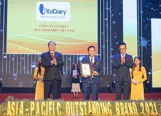 VitaDairy là Thương hiệu Tiêu biểu châu Á - Thái Bình Dương 2021