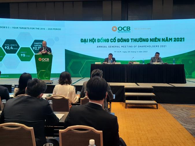 OCB đặt mục tiêu lãi trước thuế 5.500 tỷ đồng trong năm 2021