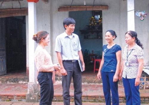 Người góp phần xoá nghèo cho quê hương