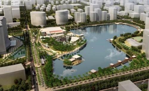 Hà Nội: Gần 299 tỷ đồng đầu tư xây dựng Công viên hồ điều hòa Nhân Chính