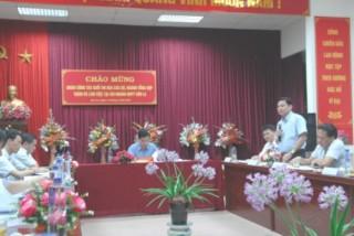 Khối thi đua các Bộ, ngành tổng hợp khảo sát và trao đổi kinh nghiệm tại Sơn La